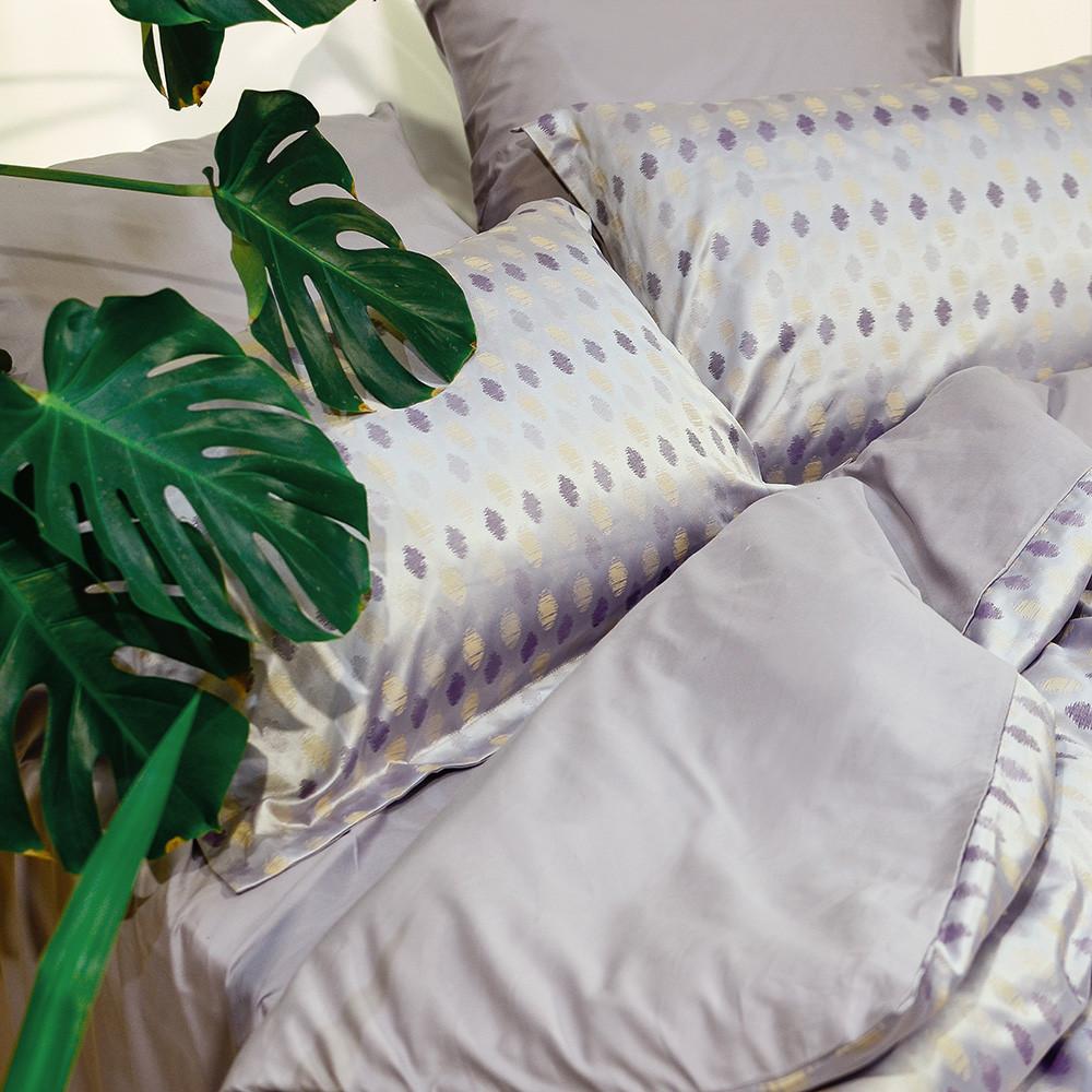 Евро Комплект постельного белья Viluta Сатин Жаккард Tiare 2008