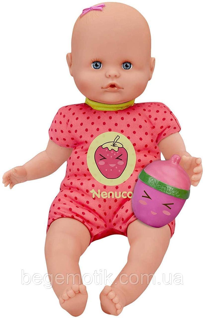 Кукла Nenuco Ненуко с погремушкой и розовой пижамой, для детей от 1 года Famosa (700014920)