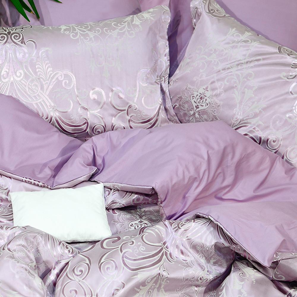 Евро Комплект постельного белья Viluta Сатин Жаккард Tiare 2007