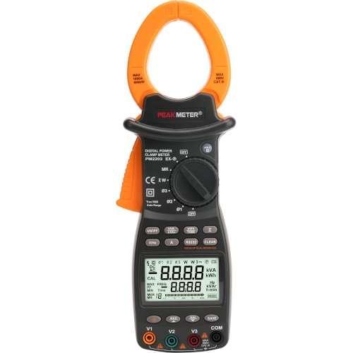 Струмові кліщі (трифазні) з функцією вимірювання потужності PM2203 PROTESTER