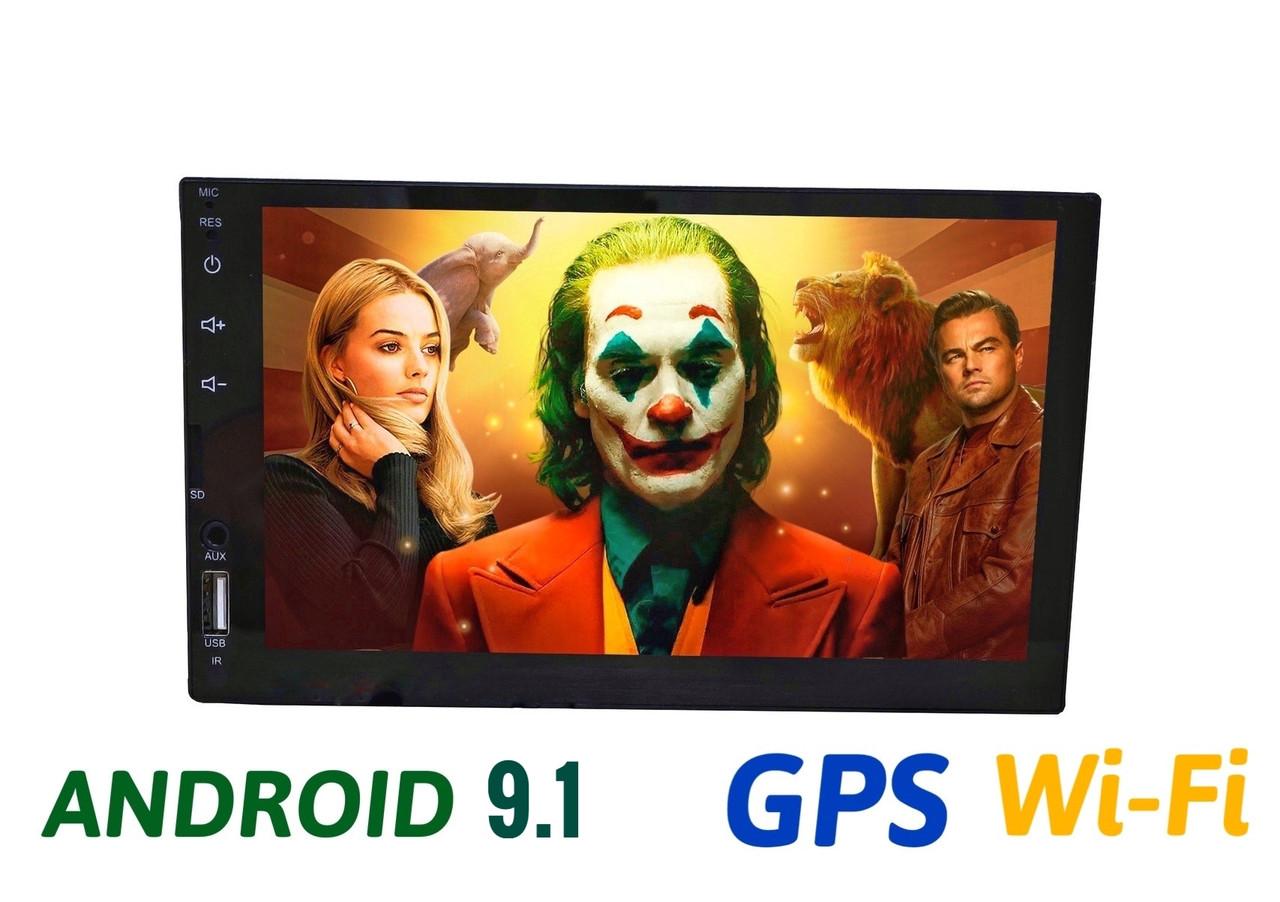 Автомагнитола 2 din Android 9.1 Андройд GPS WI-FI