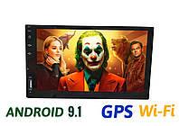 Автомагнитола 2 din Android 9.1 Андройд GPS WI-FI, фото 1