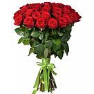 Букет с доставкой 3-101 свежие бордовые розы Кривой Рог, фото 6
