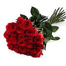 Букет с доставкой 3-101 свежие бордовые розы Кривой Рог, фото 3