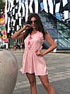 Женский летний комбинезон с широкими шортами и открытой спинкой 17kos721, фото 2
