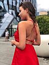 Женский летний комбинезон с широкими шортами и открытой спинкой 17kos721, фото 4