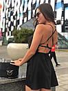 Женский летний комбинезон с широкими шортами и открытой спинкой 17kos721, фото 5