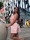 Женский летний комбинезон с широкими шортами и открытой спинкой 17kos721, фото 6