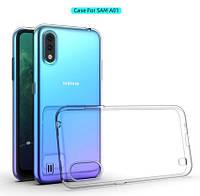 Чехол Epic для Samsung Galaxy A01 A015 силиконовый прозрачный (самсунг а01)