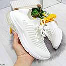 Летние спортивные женские кроссовки из текстиля со шнуровкой OB6364, фото 2