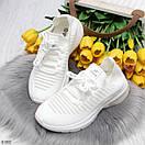 Летние спортивные женские кроссовки из текстиля со шнуровкой OB6364, фото 5