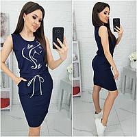 Стильное летнее женское платье вискоза 42-44 46-48 50-52 54-56 58-60 чёрный марсала красный хаки т.синий