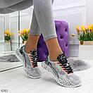 Женские летние кроссовки с принтованной подошвой OB6365, фото 3