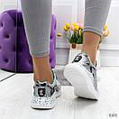 Женские летние кроссовки с принтованной подошвой OB6365, фото 4