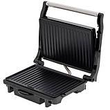 Электрический гриль panini тостер 2100W Camy Cr 3044, фото 5
