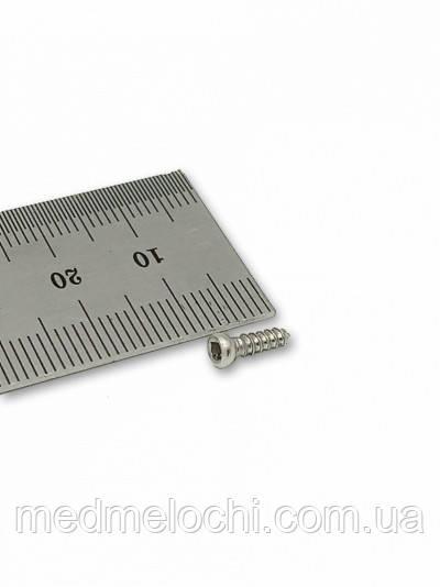 Мікрогвинт D = 2,7 мм, 28 мм, сталь, квадрат