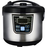 Мультиварка с функцией пароварки Opera Digital OD-166 Cooking Pro, 120 рецептов, 12 программ, 1500 Вт, серебро, фото 1