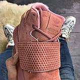 Женские кроссовки Adidas Tubular Invader Full Pink, женские кроссовки адидас тубулар инвайдер, фото 4