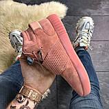 Женские кроссовки Adidas Tubular Invader Full Pink, женские кроссовки адидас тубулар инвайдер, фото 2