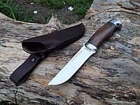 Нож для охоты и рыбалки рукоять дерево венге С -3245