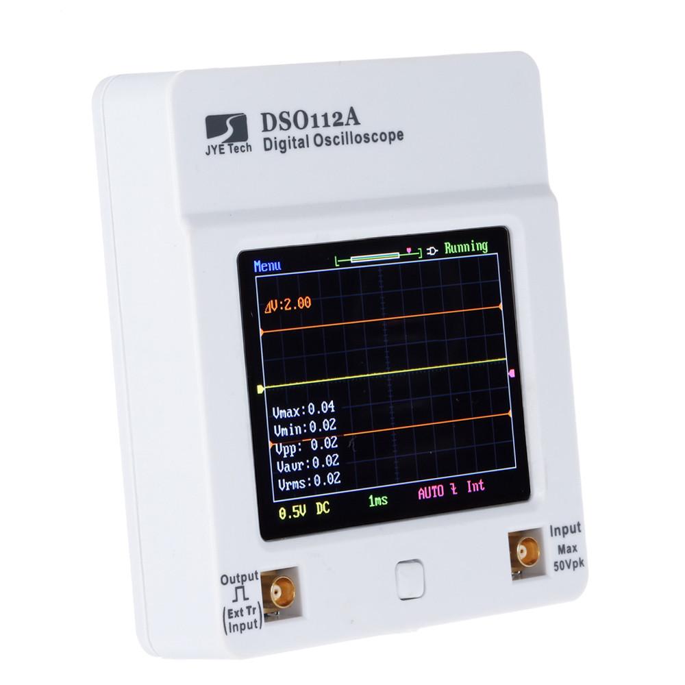 DSO 112A сенсорний, портативний цифровий осцилограф 2МГц