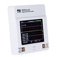 DSO 112A сенсорний, портативний цифровий осцилограф 2МГц, фото 1