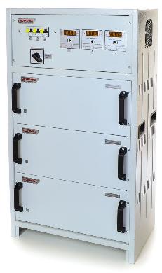 Стабилизатор напряжения симисторный ННСТ Normic 3×11 кВт 50 А