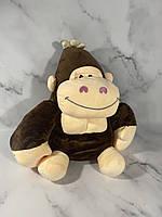 Игрушка плед подушка трансформер 3-в-1 обезьянка
