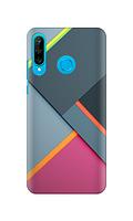 Чехол «Панели» для Huawei P30 lite (2019) Силиконовый