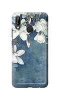 Чехол «Белая Магнолия» для Huawei P20 Lite (2018) Силиконовый