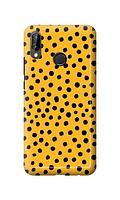Чехол «Горох на желтом» для Huawei P20 Lite (2018) Силиконовый