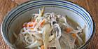 Vitacost ширатаки Fettuccine Pasta очень низкокалорийная лапша из Glucomannan (Конняку) 200 гр, фото 3