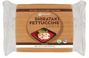 Vitacost ширатаки Fettuccine Pasta дуже низькокалорійна локшина з Glucomannan (Конняку) 200 гр