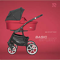 Дитяча коляска 2 в 1 Riko Basic Sport 06 Sport Red