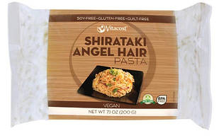 Vitacost ширатаки Angel Hair Pasta дуже низькокалорійна локшина з Glucomannan (Конняку) 200 гр