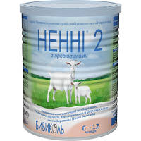 Сухая молочная смесь Нэнни 2 с пребиотиками от 6 до 12 мес 400г СРОКИ ДО 19.11.2020г