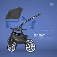 Дитяча коляска 2 в 1 Riko Basic Sport 05 Raicing Blue