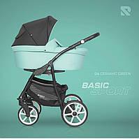 Дитяча коляска 2 в 1 Riko Basic Sport 04 Ceramic Green