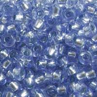 Бісер Preciosa Чехія №78131 1г, синій світлий блискучий