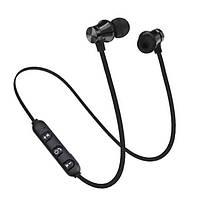 Беспроводные наушники для спорта блютуз 4.1 Heonyirry C310 c микрофоном, черные, фото 1