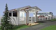 Дизайн-проект вхідної групи туристичного комплексу «КНЯЖА ГОРА», фото 1