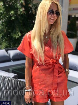 Женский летний костюм с шортами, размеры S-M, M-L