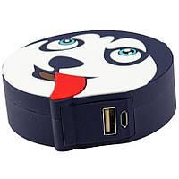 Портативное зарядное устройство Power Bank Emoji New Design 8800 mAh husky