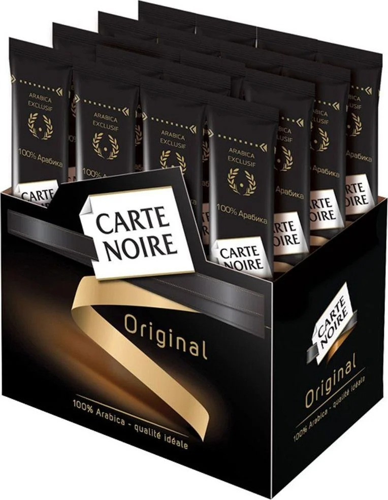 Кава розчинна Carte Noire Classique в стіках 26 шт. по 2 г
