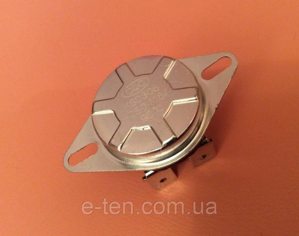 Термостат-отсекатель KSD306 (KSD303) аварийный 16A / T=95°С (термозащита) для бойлеров ATT, Garanterm, Thermex