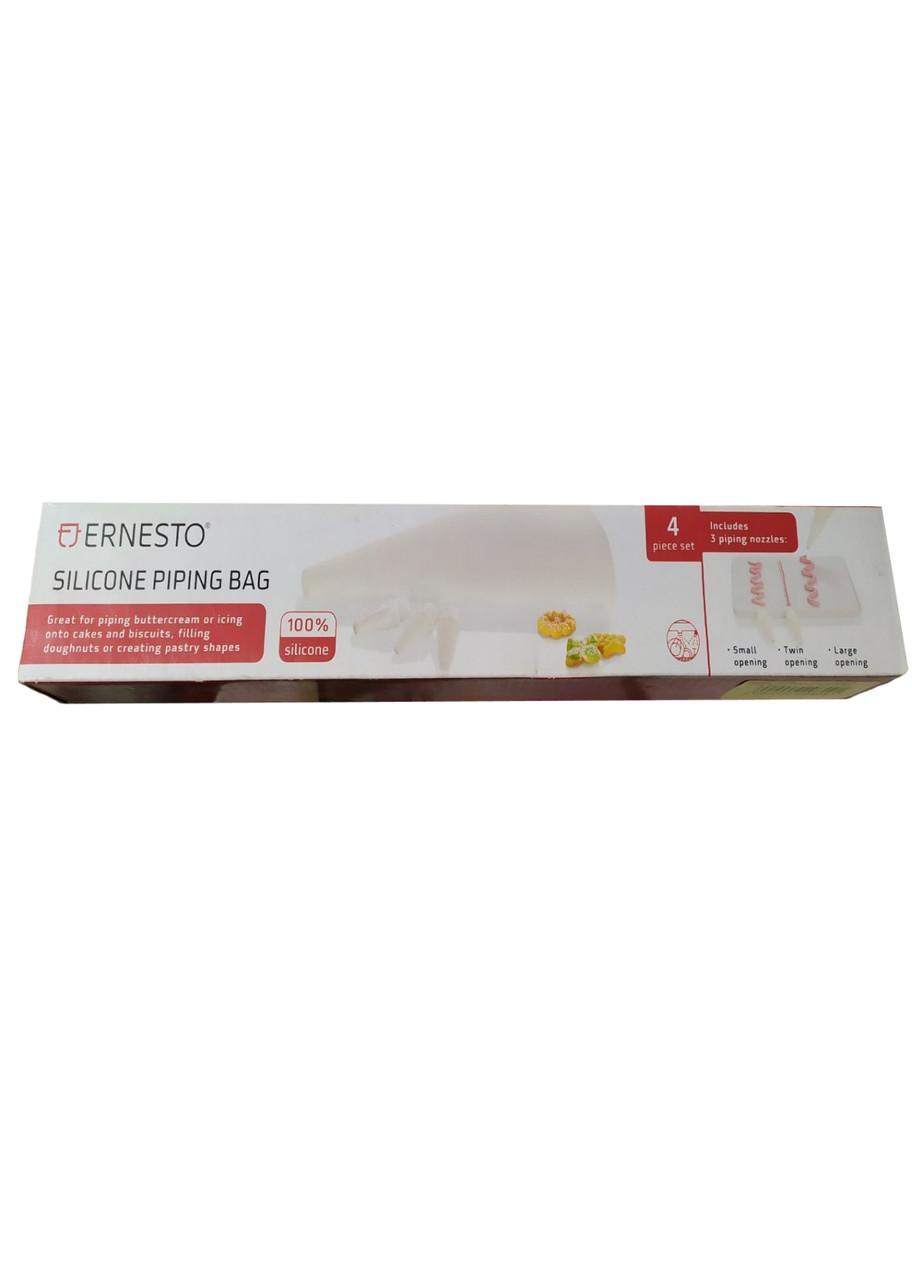 Набір для прикраси кондитерських виробів Ernesto 30,5х12,5 см Білий