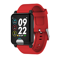 Фитнес браслет Smart Band ST H4C Тонометр + ЭКГ + PPG Красный (SBH4CRD), фото 1