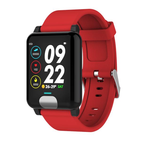 Фитнес браслет Smart Band ST H4C Тонометр + ЭКГ Красный (SBH4CTRD)