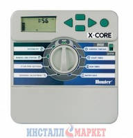 Контроллер для управления 4-мя зонами полива Hunter X-Core 401i-E (внутренний)