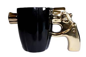 🔝 Мужская подарочная кружка для парня | подарочные чашки/кружки для мужчин - кружка револьвер/пистолет 🎁%🚚